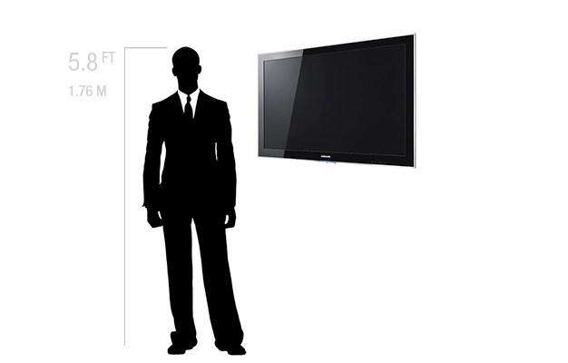 "Rentals Single Monitor 55"" LED"
