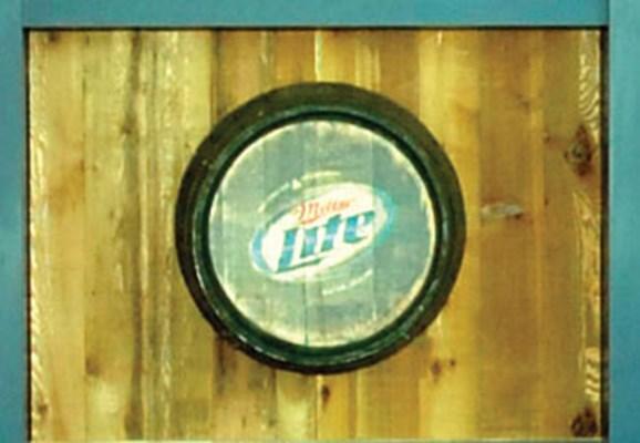 Miller Lite Bull Pen party Deck