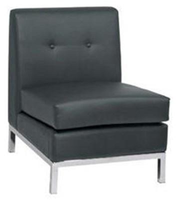 Rentals Seating Modular Armless Black