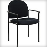 Black Arm Chair - Seating