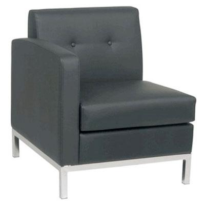 Rentals Seating Modular Left Arm Black