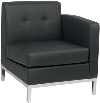 Rentals Seating Modular Right Arm Black