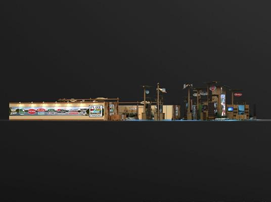 Exhibits Large Islands 90x100 PUREFISHING90X100