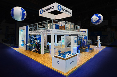 OTC 2017 trade show displays by 2020 exhibits