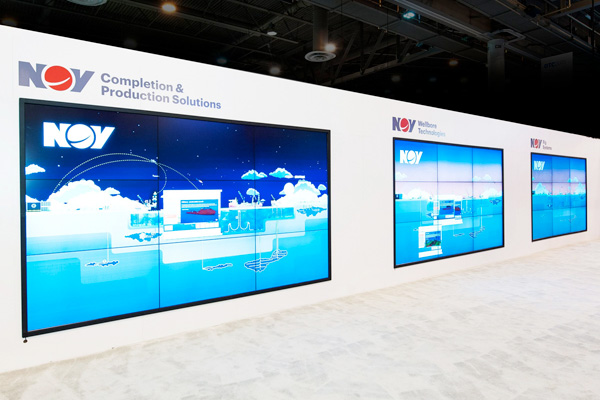 Exhibit Design Trends - Seamless LED Panel