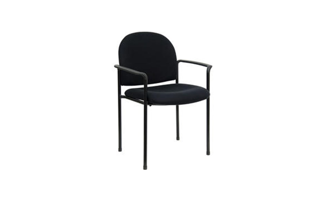 Rentals Seating Black Arm Chair