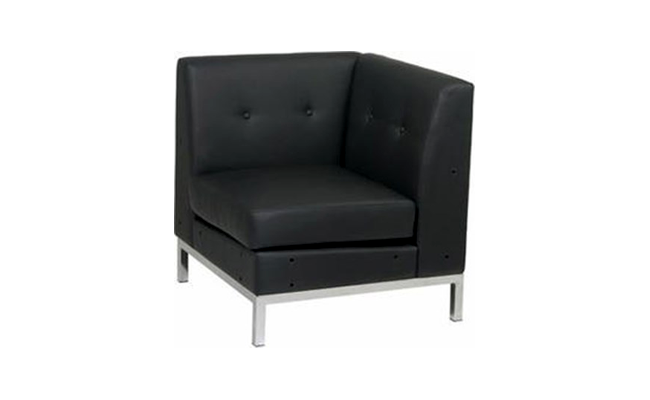 Rentals Seating Modular Corner Black