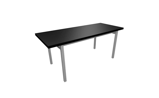 Rentals Tables Conference Table 72x30 Black
