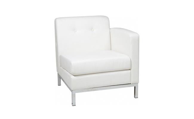 Rentals Seating Modular Right Arm White