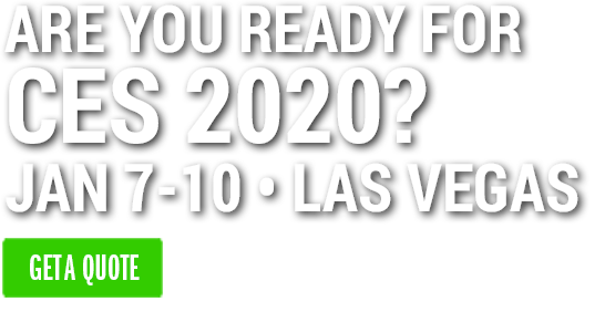 CES Trade Show Displays - Las Vegas Exhibit Rentals | 2020 Exhibits