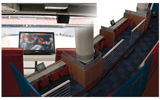 2020 Exhibits Wins AMA Crystal Award for Houston Texans Field Box Suites