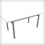 Conference Table 72x30 White - Tables