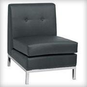 Modular Armless Black - Seating