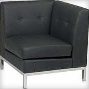 Modular Corner Black - Seating