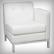 Modular Right Arm White - Seating