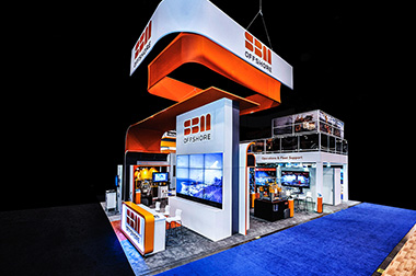 custom trade show OTC 2018 exhibits