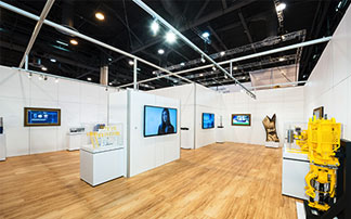 2020 Exhibits Wins Gold in 2014 Event Design Awards.