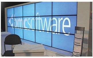 2020 Exhibits Win BMA Lantern Award for BMC Software Interactive Video Wall.