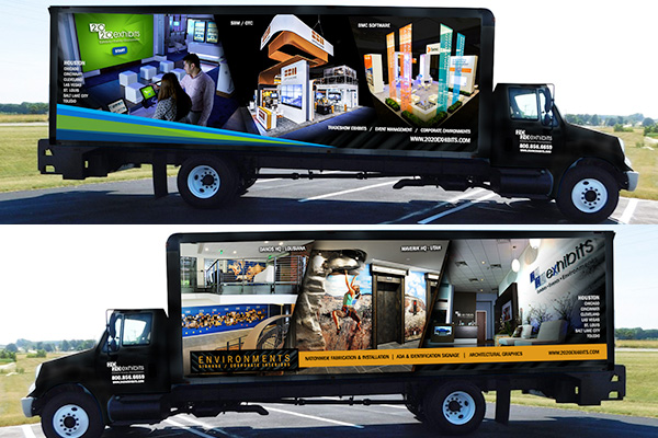 2020 Exhibits Vehicle Wrap Series