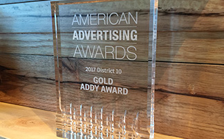 2020 Exhibits Wins Gold District ADDY Award