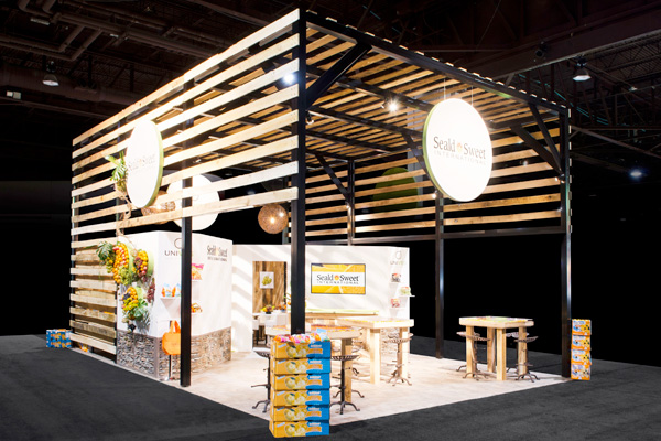 Exhibit Design Trends - Natural Materials
