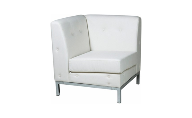 Rentals Seating Modular Corner White