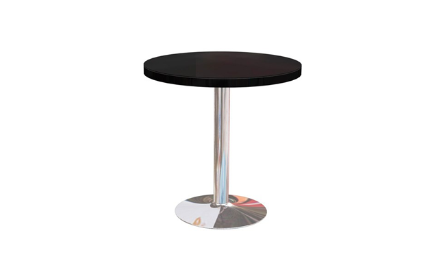 Rentals Tables Cafe Table Black