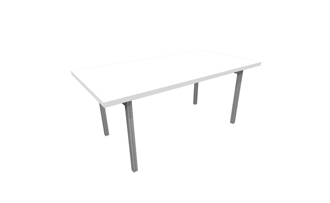 Rentals Tables Conference Table 72x30 White