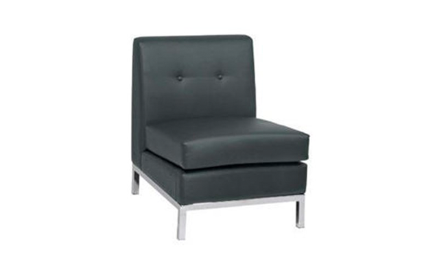 Rentals Seating Modular Armless Black
