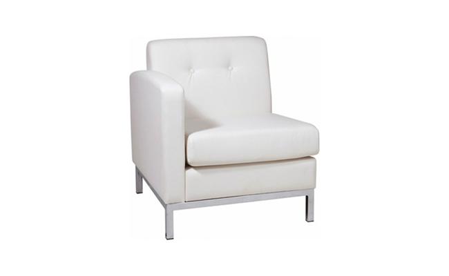 Rentals Seating Modular Left Arm White