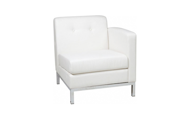 Rentals Seating Modular Right Arm White