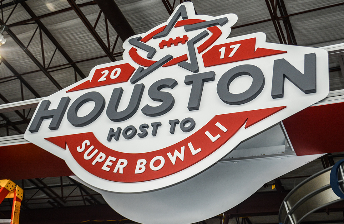 2020 Exhibits Teams Up with Houston Super Bowl Committee