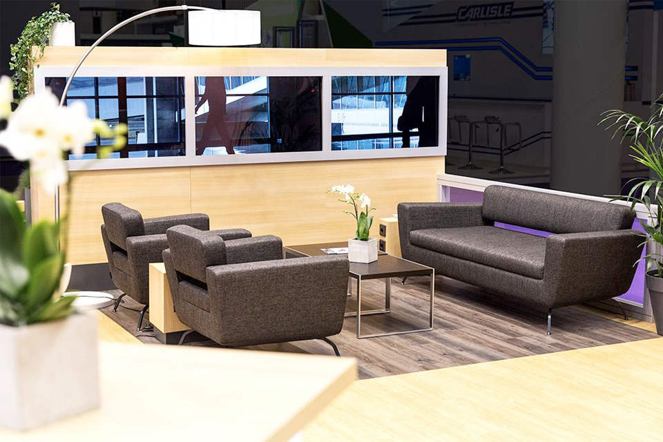 Exhibit Design Trends - Lounge Areas