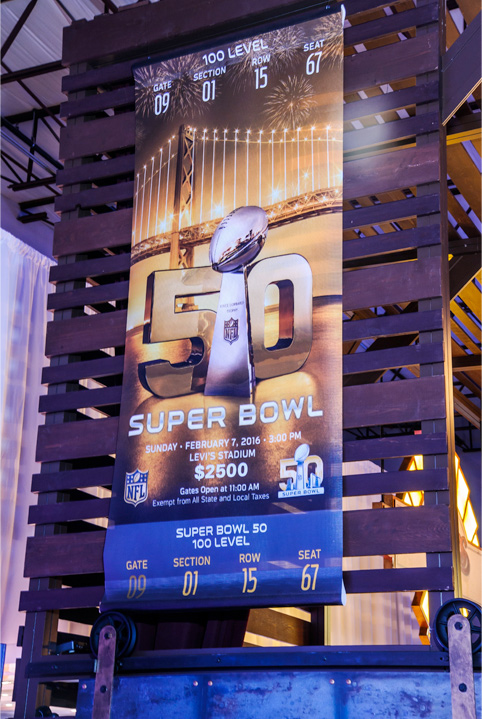 Big Games. Big Screens. Big Fun.  Super Bowl 52.