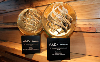2020 Exhibits Wins Two 2018 AMA Crystal Awards