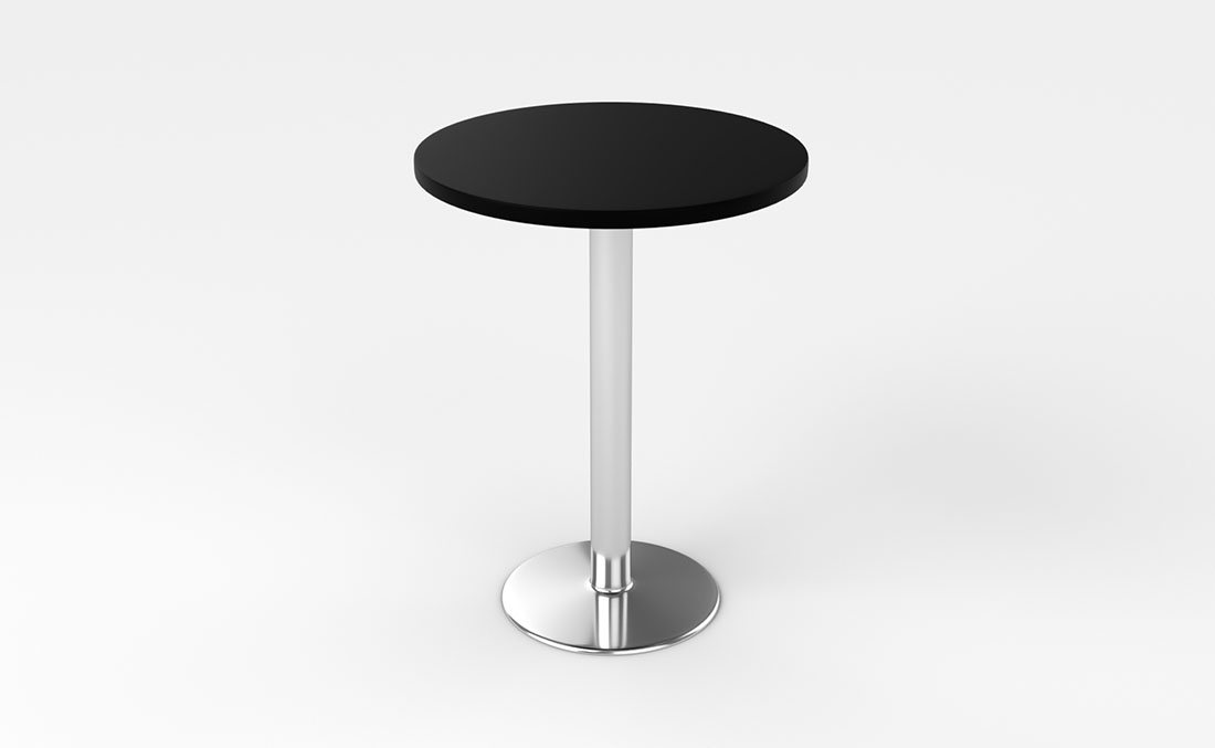 Rentals Tables Bar Table Black