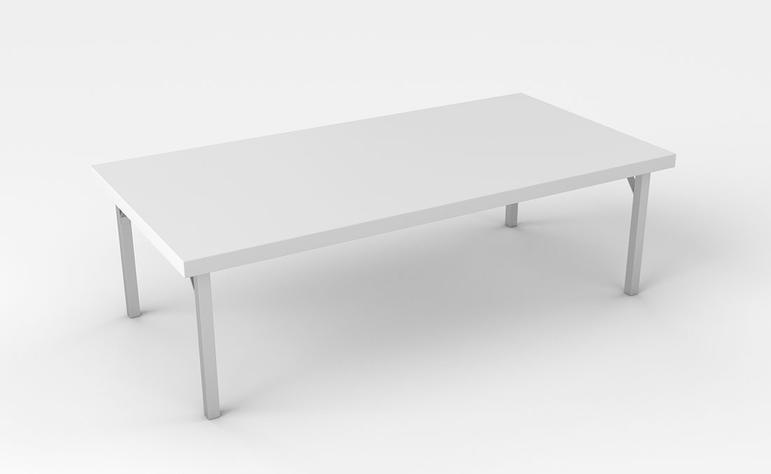 Rentals Tables Conference Table 72x36 White