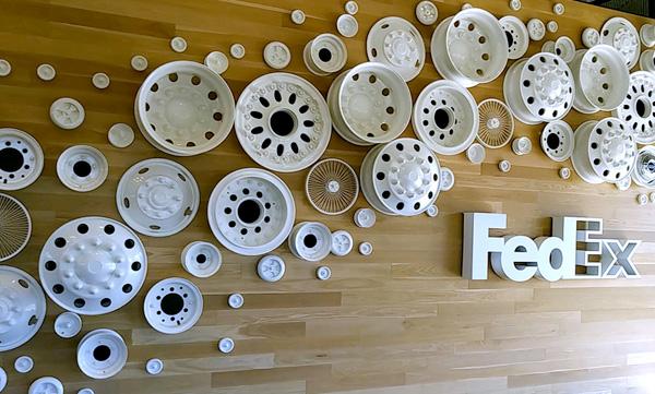 FedEx Wall