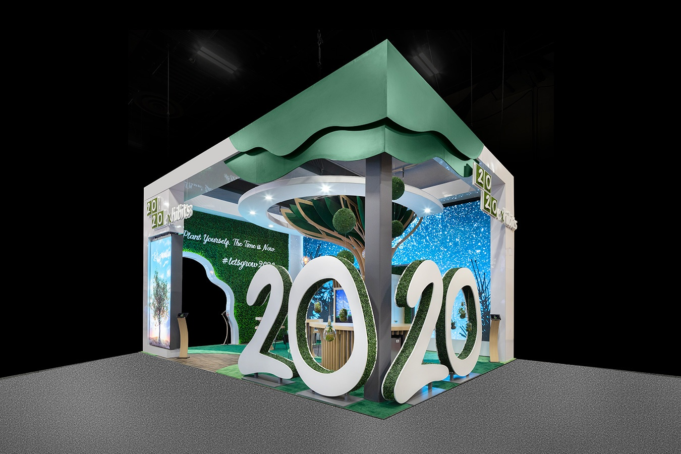 2020 Exhibits Named Finalist in Five Categories for EXHIBITOR Magazine's Portable Modular Awards