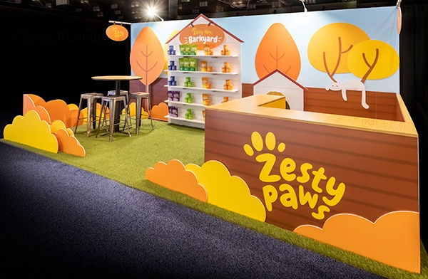 Award of Excellence: Small Trade Show Booth