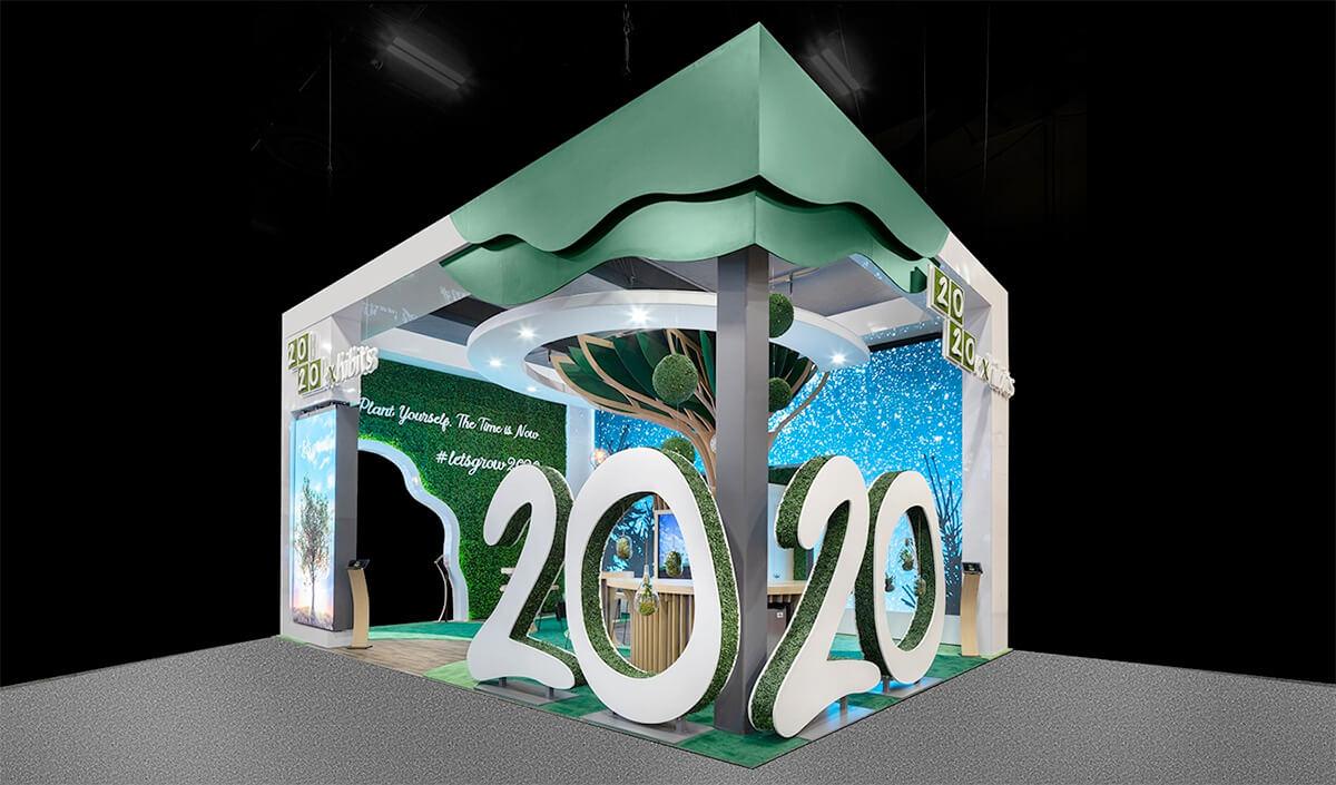 2020 Exhibits Recognized as Industry-Leading Exhibit Builder