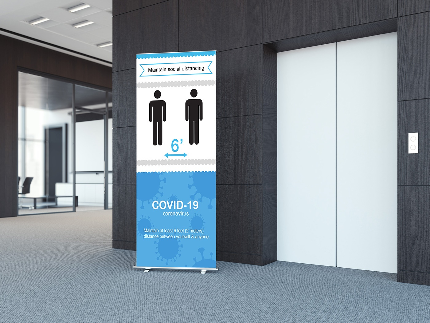 Banners and banner stands