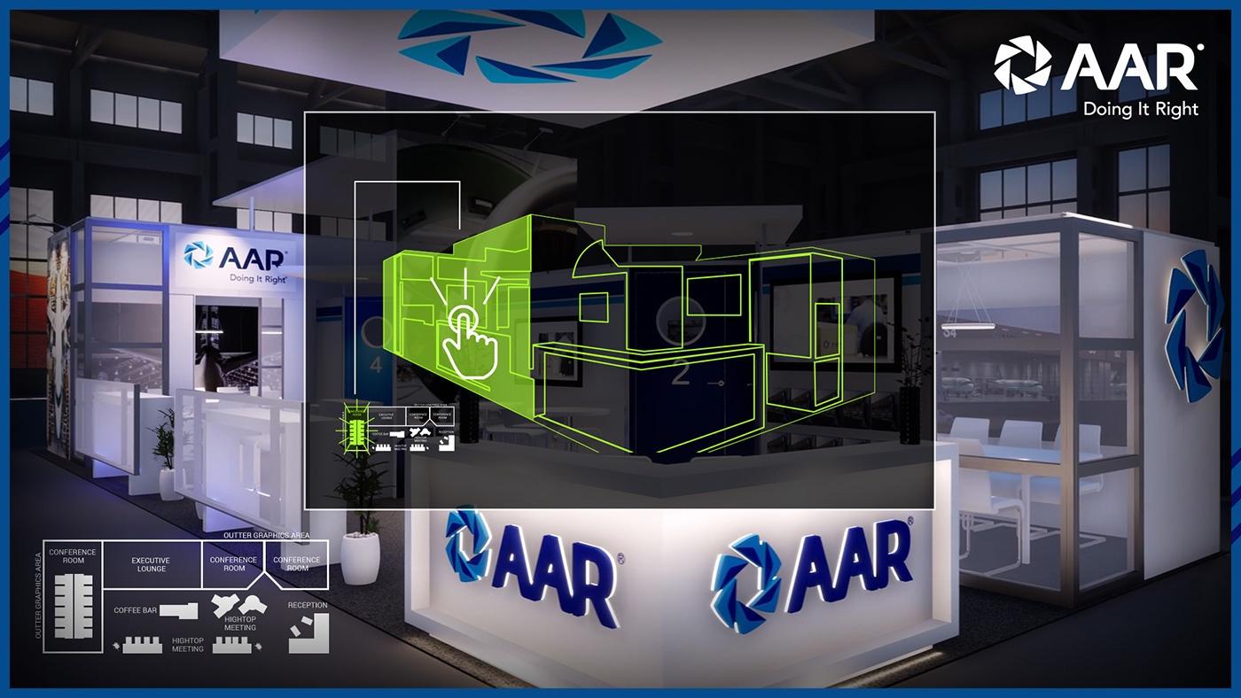 3D Interactive Virtual Exhibit Tours